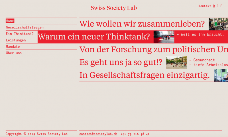 Swiss Society Lab